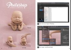 FREE step-by-step Newborn Photography Posing & Editing Guidebook by StandInBaby™
