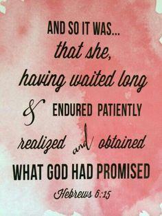 Hebrews 6:15