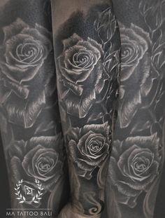 Realistic Roses Tattoo by: #Prima #MaTattooBali #BlackgreyTattoo #RosesTattoo #BaliTattooShop #BaliTattooParlor #BaliTattooStudio #BaliBestTattooArtist #BaliBestTattooShop #BestTattooArtist #BaliBestTattoo #BaliTattoo #BaliTattooArts #BaliBodyArts #BaliArts #BalineseArts #TattooinBali #TattooShop #TattooParlor #TattooInk #TattooMaster #InkMaster #AwardWinningArtist #Piercing #Tattoo #Tattoos #Tattooed #Tatts #TattooDesign #BaliTattooDesign #Ink #Inked #InkedBoy #Inkedmag #BestTattoo #Bali Ma Tattoo, Piercing Tattoo, Tattoo Shop, Tattoo Studio, Tattoo Master, Ink Master, Realistic Rose Tattoo, Rose Sleeve, Fine Line Tattoos