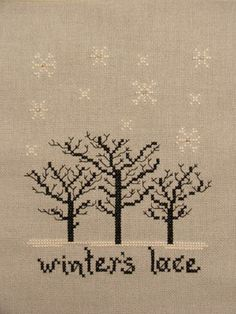 Winter's Lace
