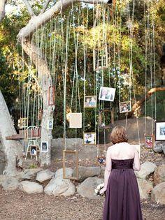 decor for an outdoor wedding