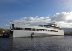 "Steve Jobs' superyacht, ""Venus."" Does it deserve its name?"