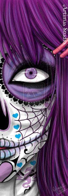 Purple Death by ArtimasStudio.deviantart.com on @deviantART
