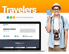 "Check out new work on my @Behance portfolio: ""Traveler Website Design"" http://be.net/gallery/37666691/Traveler-Website-Design"