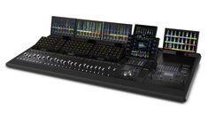 Avid - Compact control surface for music and audio post Sound Studio, Audio Studio, Audio Post Production, Home Recording Studio Setup, Music Mixer, Editing Suite, Studio Equipment, Recorder Music, Studio Furniture
