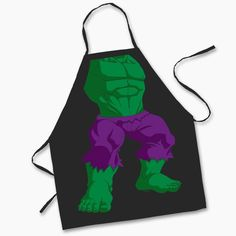 HULK CHILDREN'S APRON
