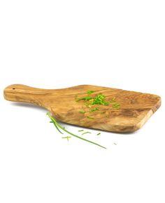 Kräuterbrettchen aus Olivenholz 30 x 13 cm | treevoli