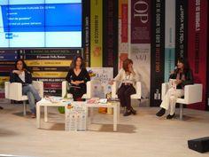 Le autrici di CiccioTuttapancia al Salone del Libro 2012 per il concorso www.libridagustare.it. Vota il libro!