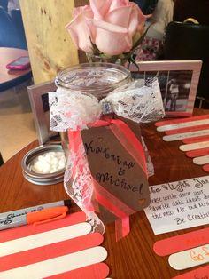 Date Night Jar... Bridal shower activity! @Sydney Martin Martin Martin Sweet