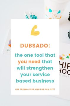 The best client management system for your service based business. Get the off promo code and see how Dubsado will keep your clients contracts, invoices, projects, and more organized and easy to manage. Dubsado is perfect for all creative business types. Marketing Plan, Media Marketing, Creative Business, Business Tips, Do Video, Video Advertising, I Need To Know, Business Motivation, How To Introduce Yourself