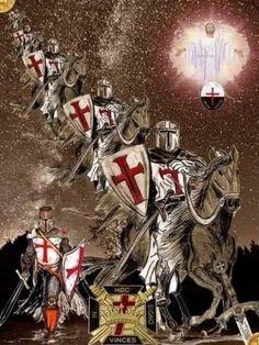 Knights Templar, Christ, Faith, Cool Stuff, Comics, Semper Fi, Crusaders, Soldiers, Warriors