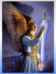 Archangel Michael [ Mee Kai EL ] and his sword of light