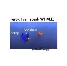 Percy can speak whale