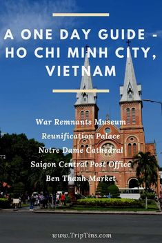5 Incredible Things To Do in HCMC Vietnam Travel Guide, Asia Travel, Stuff To Do, Things To Do, Reunification, Countries To Visit, Road Trip Hacks, Ho Chi Minh City, Southeast Asia