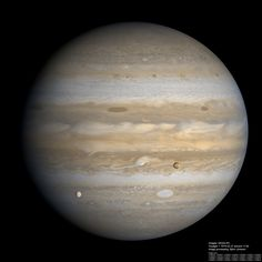 Jupiter, Io and Europa