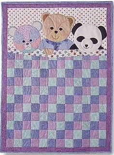 My Three Bears Kids Quilt Pattern by Garden Trellis Designs at KayeWood.com. 40 x 52 inches. The pattern is complete with all pieces and directions. http://www.kayewood.com/My-Three-Bears-Kids-Quilt-Pattern-by-Garden-Trellis-Designs-GTD-MYTH.htm $8.00