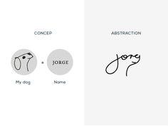 Personal Logo by Jorge Torres Dog Logo Design, Brand Identity Design, Branding Design, Self Branding, Logo Branding, Corporate Branding, Personal Logo, Personal Branding, Logo Personnel