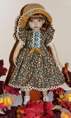 "~*~Autumn Garden Stroll~fits 13"" Effner Little Darling~*~4 PC~*~"