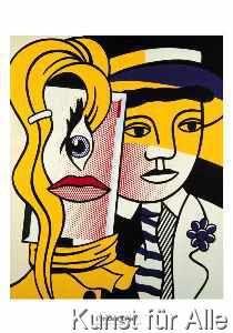 Roy Lichtenstein - Stepping out