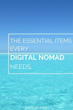 The ultimate digital nomad packing guide for all remote workers. Make Money Online, How To Make Money, Blog Logo, Online Work, Travel Tips, Travelling Tips, Travel Stuff, Budget Travel, Travel Ideas