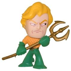Funko Mystery Minis Vinyl Figure  DC Comics Series 2  Justice League Super Heroes  AQUAMAN * You can get additional details at the image link.