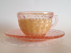 A personal favorite from my Etsy shop https://www.etsy.com/listing/236031515/vintage-windsor-depression-glass-tea-cup