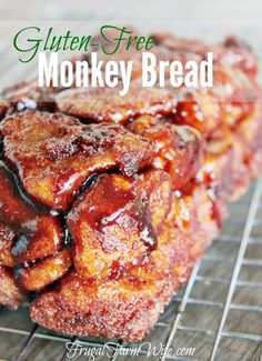 Gluten-Free Monkey Bread - Warning This Dough Is Not Like # glutenfreies affenbrot - warnung dieser teig ist nicht wie Gluten-Free Monkey Bread - Warning This Dough Is Not Like # Patisserie Sans Gluten, Dessert Sans Gluten, Gluten Free Sweets, Gluten Free Cooking, Gluten Free Baking Recipes, Bread Recipes, Gluten Free Coffee Cake, Healthy Gluten Free Recipes, Dessert Recipes