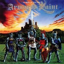 Armored Saint - March Of The Saint music CD album at CD Universe, Digitally remastered and expanded edition of this 1984 debut album from the Metal band, Formed in. The Saint, Saint John, Cover Art, 80s Metal Bands, Cool Album Covers, Heavy Rock, Metal Albums, Power Metal, New Saints