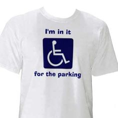 """Amputee men 744571750882824766 - Amputee humor 520588038154812982 – After a very long and difficult week, this made me LOL. As Don says, """"you got your magic parking pass?"""" Source by jylt Source by"""
