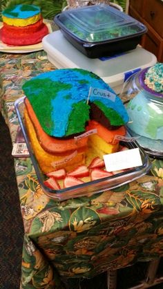 Edible Earth layer project