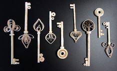Keys - Paper Quilling                           by  KCrlni