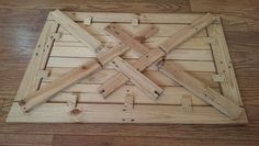 Before & After: Recycled Pallet Pops With New Purpose — Instructables | Apartment Therapy