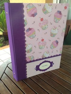 Para las recetas más dulces de Anna Binder, Scrapbooking, Stamp, Good Things, Cleaning, Album, Recipe, Ideas, Tela