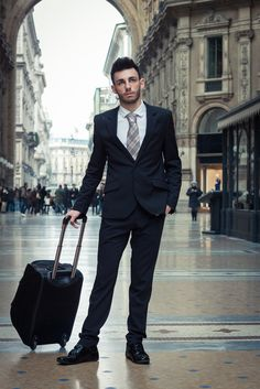 """When the man in your life must travel, what are his must-haves? Do your opinions on what makes something a """"must-have"""" differ? If they do, be sure to gift him with the necessities. Click the image to explore the best options. Travel Accessories For Men, Mens Travel, Great Gifts For Men, Travel Essentials, Travel Style, To Go, Guys, Explore, Life"""