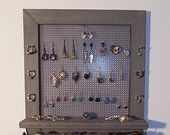 Jewelry wall organizers for the home from The Rustic Shack Shop. Jewelry Wall, Jewelry Organizer Wall, Jewelry Organization, Happy 2015, Bracelet Holders, Organizers, Wine Rack, Etsy Seller, Rustic