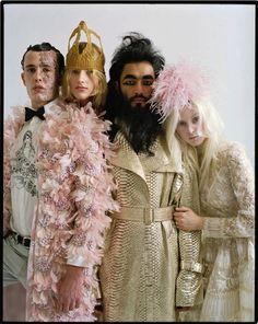 Couture's Outré Attitude: Tim Walker for W April 2013