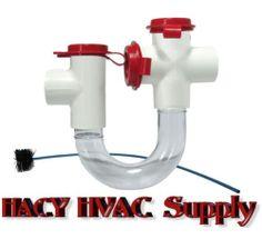 Product: Evaporator Coil Condensate Drain Trap  Manufacturer: Rectorseal  Model: EZT 113B