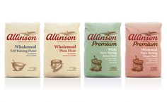 Packaging of the World: Creative Package Design Archive and Gallery: Allinson Flour (Redesigned)