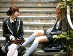 """'Gossip Girl,' by its very title, promises both to tell you the secrets of the city and to remind you that you weren't invited to the party. The chances of a tornado coming along to lift you up out of your farm in Kansas and deposit you (and your annual tuition fee of $30,000) at the Constance Billard School for Girls, on Ninety-third Street, just east of Fifth Avenue, which Blair Waldorf and Serena van der Woodsen attend, are about the same as the chances of Blair and Serena ever finding…"