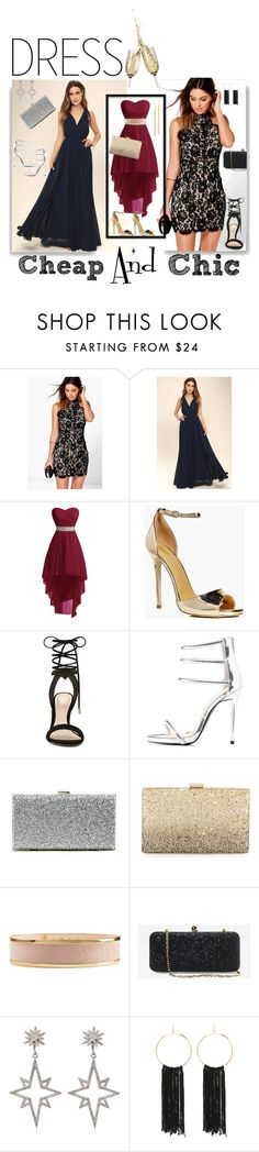 """""""Chic"""" by piapia74 ❤ liked on Polyvore featuring Boohoo, LULUS, ALDO, Qupid, Sole Society, Neiman Marcus, Balmain, White House Black Market, Apples & Figs and Bebe"""