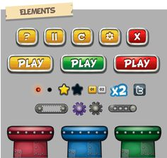 iPhone Game by Sabrina Torchiana, via Behance