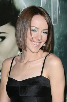 Jena Malones blunt bob hairstyle