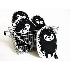 Cute hedgehogs by Paapii Design.