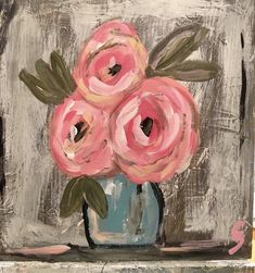 Paintings I Love, Acrylic Art, Art Plastique, Painting Inspiration, Diy Art, Painting & Drawing, Flower Art, Watercolor Paintings, Art Projects