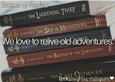 Percy Jackson always