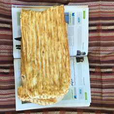Fresh #barbari #bread we bought at #Foman and brought to #masouleh #fb #food #persian #gilan #iran #met2iran2