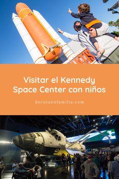 En este artículo os contamos nuestra experiencia visitando el Kennedy Space Center con niños. Teníamos expectativas cero y salimos alucinados! Universal Studios, Atlantis, Los Kennedy, Sci Fi, Florida, Movies, Movie Posters, Bus Station, Space Shuttle