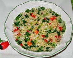 Salada de Quinoa ~ Veganana                                                                                                                                                                                 Mais