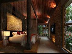 bali style interior design - Bali Bedroom Design