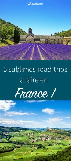 5 routes to do in France for a road trip! Want to escape a few days and go discover or rediscover France? The road trip is the ideal option for a long weekend at your own pace. Road Trip France, Camping France, Camping In Maine, Road Trip Europe, France Travel, Camping Car, Week End France, Santa Cruz Camping, Camping Cornwall